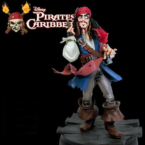 캐리비언 해적 Jack Sparrow - animaited maquette