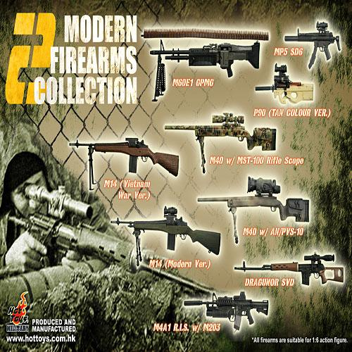 (입고) Modern Fire arms set series 2