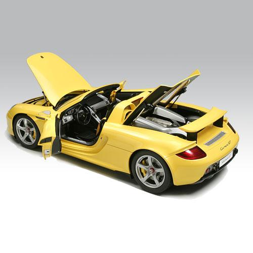 Porsche Carrera GT - Yellow / 반조립품