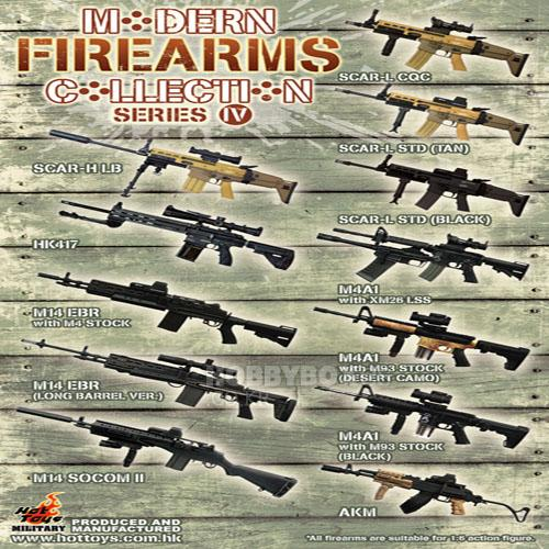 Modern Firearms collection series 4