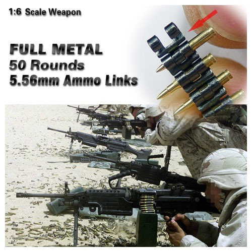 (재입고) Full Metal Ammo Link 5.56mm