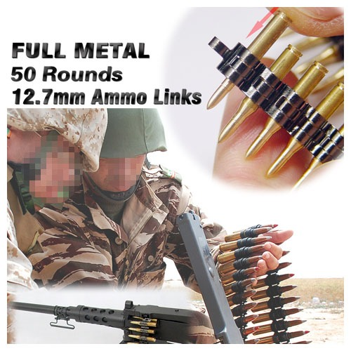 (재입고) Full Metal Ammo Link 12.7mm