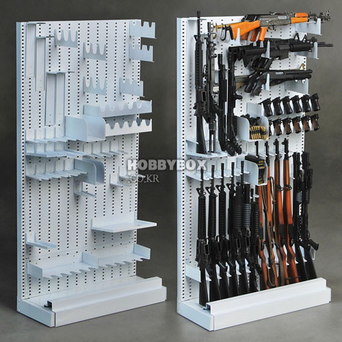 (입고) Full Metal Expandable Weapon Rack - 메탈 총기거치대