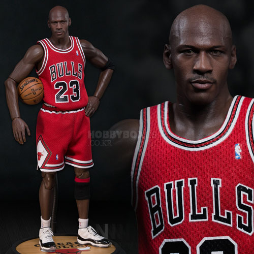 (입고) 마이클 조던(Michael Jordan) Series 1 #23 Road (red) Jersey Edition./ NBA