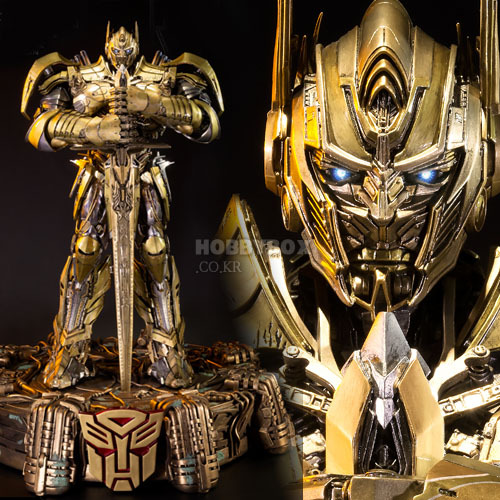 (입고) 옵티머스 프라임(Optimus Prime) Statue - Knight Edition Gold version. / 트랜스포머(Transformers)