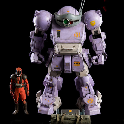 (예약) Armored Trooper Votoms Scopedog ' Melquiya color' & Parachute Sack / 3Z0086