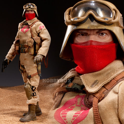 (예약마감) Desert Ops Trooper: Officer 12-inch Figure / 지아이조(G.I. Joe)