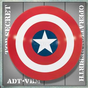 Captain America Shield Prop Replica -1960년대 버전