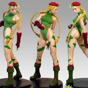 (입고) Street fighter - Cammy Mixed Media Statue - 46cm 크기