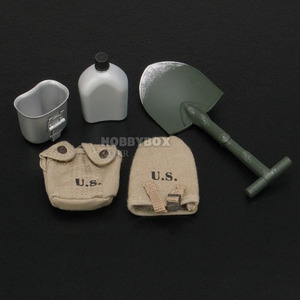 (재입고) WW2 미군 메딕(Medic) - Canteen, Shovel & pouches set.
