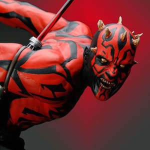 (예약마감) 스타워즈(Star wars) - Darth Maul Lights up Artfx Statue - 재생산분