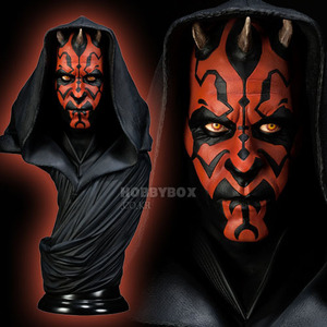 (예약마감) 다스 마울(Darth Maul) Legendary Scale Bust / 스타워즈(Star Wars)